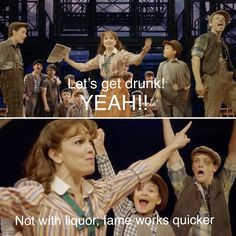 Ben Cook's face haha I'm dying | Newsies the Musical