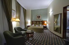 Royal Qatar Hotel Doha The Royal Qatar Hotel is centrally located in the business district of Doha. The hotel offers luxurious accommodation overlooking the Al Asmakh Street. Free wireless internet is provided all over the hotel.