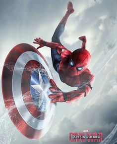Spider-Man & Captain America Shield.