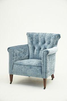 Crushed Velvet Armchair