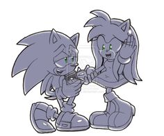 sonic pidiendole la mano amy by lissfreeangel on DeviantArt