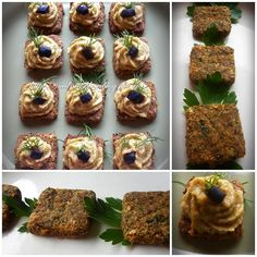 Mini-bites din crakers cu legume si pasta de linte cu migdale Raw Vegan Recipes, Cooking Recipes, Healthy Recipes, I Foods, Dan, Muffin, Food And Drink, Sport, Breakfast