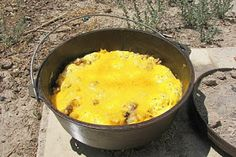 Red Couch Recipes: Dutch Oven Mountain Man Breakfast