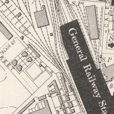 Perth Ordnance Survey Six-inch 1900