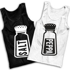 Salt 'n' Peppa Best Friends Tank Tops by AwesomeBestFriendsTs