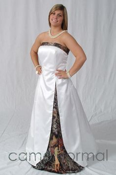 Camouflage Wedding Dresses just like that? Can you imagine? Kenneth's favorite list of camouflage wedding dresses options. White Camo Wedding Dress, Camouflage Wedding Dresses, Camo Dress, Blue Bridesmaid Dresses, Prom Dresses, Bridesmaids, Bridal Gowns, Wedding Gowns, Wedding Ceremony