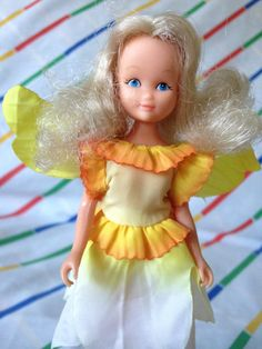 Vintage Hornby Flower Fairies 1983 Narcissus by LittleToyLost