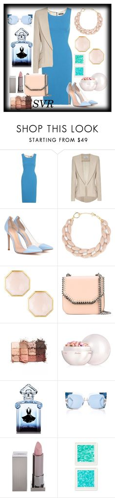 """""""SVR 7"""" by svrrvs ❤ liked on Polyvore featuring Dolce&Gabbana, Hebe Studio, Gianvito Rossi, DIANA BROUSSARD, Ippolita, STELLA McCARTNEY, tarte, Guerlain, Pared and Lipstick Queen"""