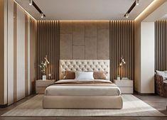 Modern bedroom design - 4 Principles for Creating the Perfect Bedroom Bedroom Furniture Design, Bed Furniture Design, Interior Design Bedroom, Bedroom Bed Design, Bed Design, Ceiling Design Bedroom, Luxury Bedroom Master, Modern Bedroom, Luxurious Bedrooms