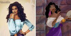 Come sarebbero nella realtà i personaggi Disney | DANinSERIES Pocahontas, Little Mermaid Prince, The Little Mermaid, Walt Disney, Disney Art, Disney Magic, John Smith, Disney Girls, Disney Love