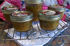 Make and share this Green Tomato Hot Dog Relish recipe from Genius Kitchen. Hot Dog Relish Recipe, Relish Recipes, Dog Recipes, Syrup Recipes, Canning Recipes, Canning Lids, Green Tomato Relish, Green Tomatoes