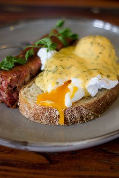 Somers General Store, Mornington Peninsula: Ham and Eggs Yolk #winefoodfarmgate #morningtonpeninsula
