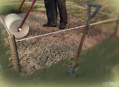 How to Level the ground in your yard for a garden or in general