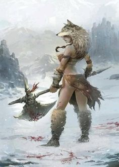 "Ancient Celtic/Gaul Warrioress that is probably more accurate than the slutty non functioning armor of supposed ""fantasy"" women ad nauseam. Artist unknown, if anyone finds out please let me know ASAP! Fantasy Warrior, Fantasy Girl, Fantasy Rpg, Fantasy Women, Medieval Fantasy, Fantasy Artwork, Larp, Fantasy Characters, Female Characters"
