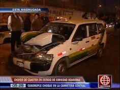Santa Anita: Chofer ebrio de 'El Chosicano' causó cuádruple choque con tres heridos