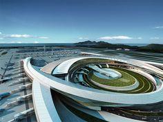 Incheon Internation Terminal 2 concept - Corgan