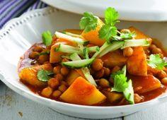 Aardappelcurry met kikkererwten - Aardappel.be