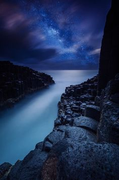 Fingal Head, Queensland, and Mik Way, Australia by Byron Prukston