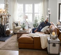 Cool Leather Couch Living Room Ideas Creative