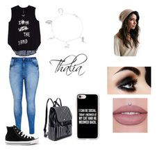 """""""Sem título #16"""" by manuela4rodrigues27 ❤ liked on Polyvore featuring Melissa McCarthy Seven7, Casetify, City Chic, Converse and plus size clothing"""