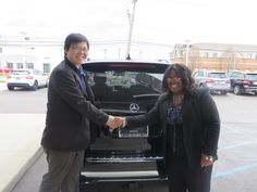 We would like to congratulate both Mr. Zhang on his first Mercedes Benz and our newest Sales Associate Ywanda on her first sale. We welcome you both into the Mercedes Benz of St. Clair Shores family.