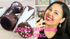 Oreo, Chocolates, Cake Pops, Youtube, Desserts, Food, Cupcake, Videos, Stuffing Recipes