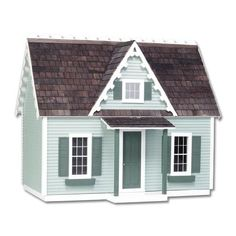 Dollhouse Miniature Victorian Dollhouse Cottage, Jr. by Real Good Toys $341 (finished)
