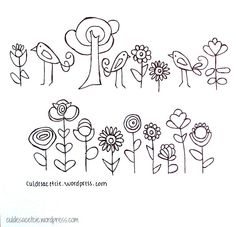 Free embroidery patterns! | Flickr - Photo Sharing!