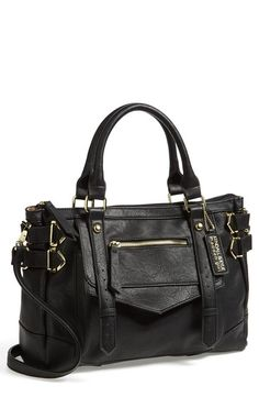 Great faux leather satchel for work or school.