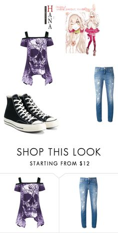 """Naomi Mukami Casual Outfit 2"" by theoneofseven on Polyvore featuring Dolce&Gabbana and Converse"