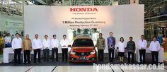 Ini Akumulasi Penjualan Unit Honda Selama Bulan Februari 2017 yang di dominasi oleh Honda mobilio keluaran facelift, yang rilis di awal tahun 2017