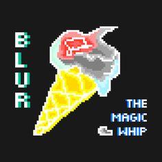 Blur The Magic whip pixel art merch
