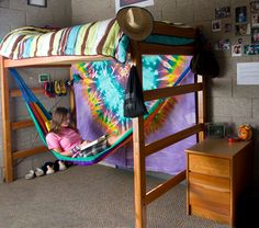 """""""The coolest crib contest.""""  Have a contest within your hall to see who has the """"coolest room.""""  This will get residents excited to decorate and clean their rooms.  They will be more likely to travel across the hall to see the rooms that have entered."""