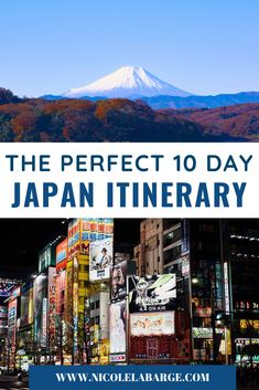 Here is the best 10 day itinerary for Japan from someone who used to live there. Tips and tricks on how to maximize your time in #Japan