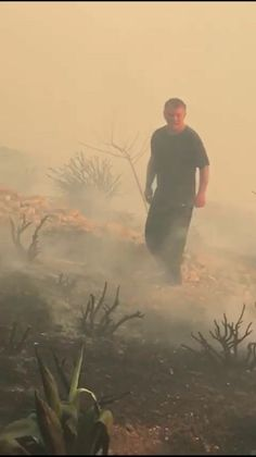 """jordanianroyals: """" On 18 June, 2017, King Abdullah II helped putting our a fire in the area of Kamaliyya on the outskirts of the capital Amman, a green mountain range with a spring weather and heavy air, located along the edges of the royal..."""