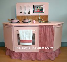 Another play kitchen that I want!!! But the color blue