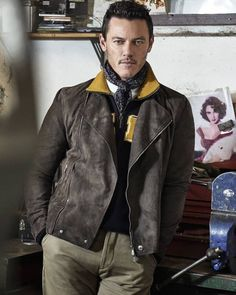He is not real   #LukeEvans by Photographer Gavin Bond