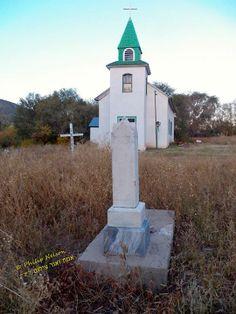 Church, San Patricio, New Mexico, USA