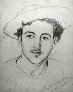 John Singer Sargent (1856-1925) - Bartholomy Magagnosco, 1875