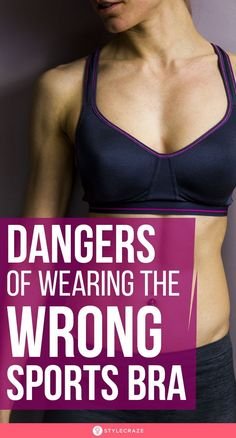 Dangers Of Wearing The Wrong Sports Bra: Before you hit the gym and commence upon your workout routine, you should ensure that you have the right gear with you. More specifically, the right sized sports bra. Having this essential item is way more important than you'd to care to think. Keep reading to find out. #SideEffects #Dangers #SportsBra Bra Image, Ligament Tear, Old Bras, Neck Problems, Health Images, It Band, Sport One, Old Fashioned Recipes, Sweaty Betty
