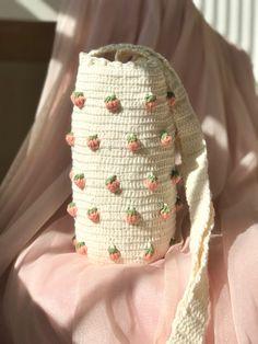 Cotton Crochet, Cute Crochet, Knit Crochet, Crotchet, Diy Crochet Projects, Crochet Crafts, Crochet Designs, Crochet Patterns, Mochila Crochet