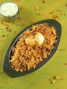 Nitha Kitchen: Egg Biryani | Muttai Biriyani Recipe