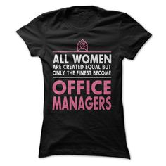 Cheap One For Office Manager T Shirt