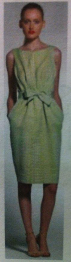 "Max Mara Spring 2013 - Matelasse Croc Stamp Dress, Olivia Pope, Scandal, Episode 214, ""Whiskey Tango Foxtrot"""