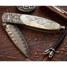 From the Craftsmen of William Henry Studios, Limited-Edition, Heirloom-Quality Folding Knives to Treasure for a Lifetime!