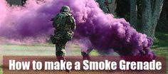 How to Make a Smoke Grenade