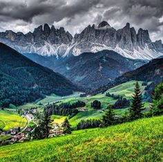 The breathtaking beauty of the Dolomites, where the weather can change very quickly.  Location: Italian - Austrian border.  Photo by crossmaglen via Instagram #amitrips #travel #nature 3beautiful