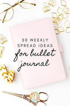 Weekly Spread layout ideas for Bullet Journal | what is a Bullet Journal | Ideas to get started with a Bullet Journal #bulletjournal #bujo #howtostartbujo