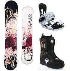2012 Lamar Rose 152cm Snowboard+bindings+flow Lotus Boots New Burton - Snowboarding - Zimbio