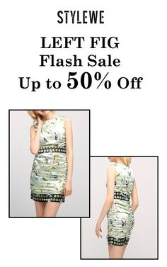 Get up to 50% discount on LEFT FIG Flash Sale products at only StyleWe store.  Get hurry now, this offer is ending soon. For more StyleWe Coupon Codes visit:  http://www.couponcutcode.com/stores/stylewe/